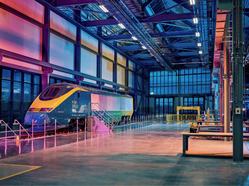 Level 4 High Speed Rail and Infrastructure Advanced Technician Apprenticeship